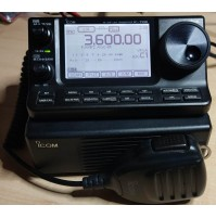 ICOM IC-7100 RTX ALL MODE HF+50+70+144+430 MHZ PARI AL NUOVO