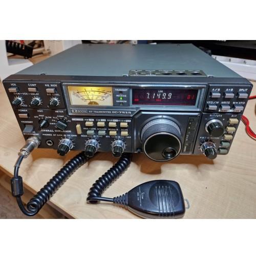 ICOM   IC-751A -  RTX HF - 220V - IL MITO!