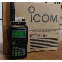 ICOM IC-E92D PORTATILE BIBANDA ANALOG/D-STAR - PARI AL NUOVO CON IMBALLO