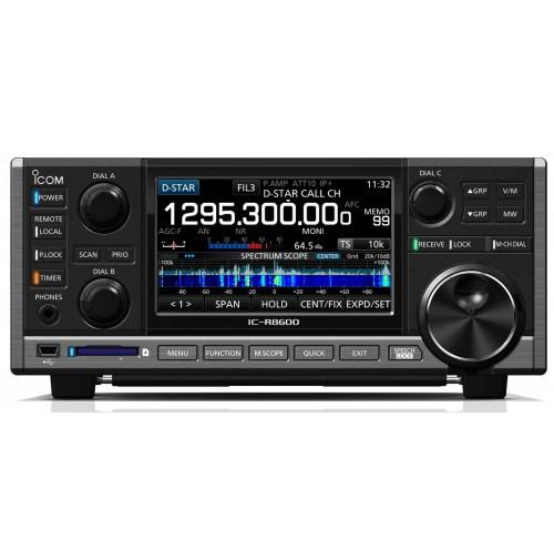 ICOM IC-R8600 -Ricevitore all mode + dIGIT AMPIO SPETTRO 10 kHz – 3 GHz