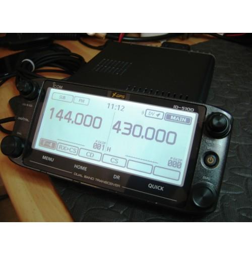 ICOM ID-5100E RTX VHF/UHF DSTAR PARI AL NUOVO  - CON GARANZIA RESIDUA