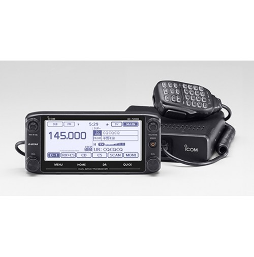 ICOM ID-5100D - RICETRASMETTITORE VHF UHF VEICOLARE DSTAR