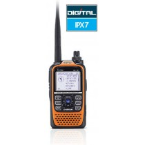 ICOM ID-51E ORANGE PLUS  RTX  DUAL BAND  D-STAR CON GPS - CUSTODIA OMAGGIO