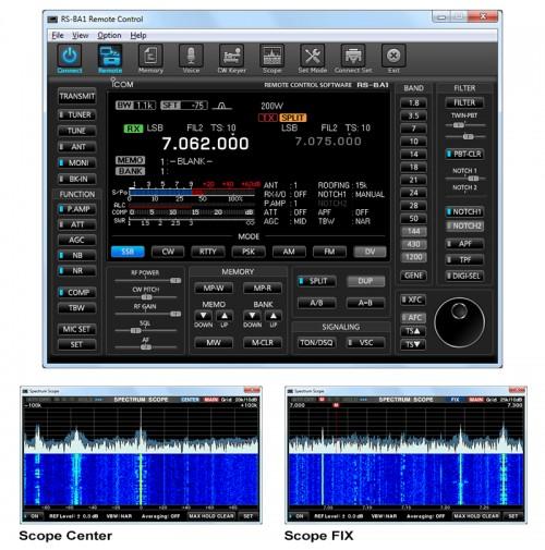 ICOM RS-BA1 V2 Software per il controllo remoto tramite IP