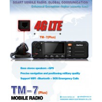 INRICO TM-7 PLUS  GPS Wifi 4G LTE WCDMA Network Mobile Radio ANDROID 7