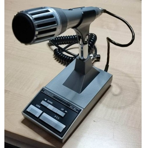 KENWOOD MC-60A MICROFONO DA TAVOLO PREAMPLIFICATO - PARI AL NUOVO