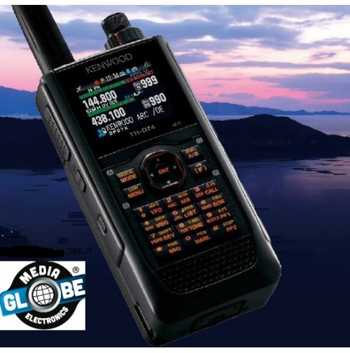 Kenwood TH-D74E + SMC32 – Bibanda 144/440 MHz RTX PORTATILE  D-STAR