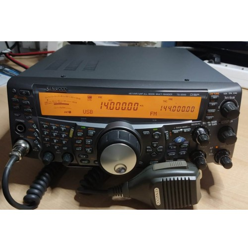 KENWOOD TS-2000  RTX HF-50-144-430 MHZ ALL MODE - TUNER - OTTIMO STATO