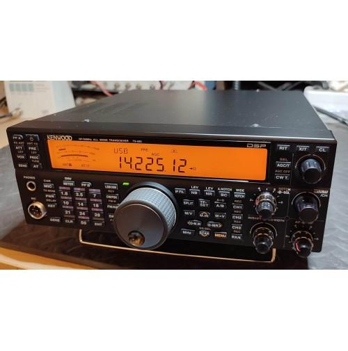 KENWOOD TS-590S RTX HF-50MHZ +  + VGS-1 SINTESI VOCALE + SO-2 - TXCO