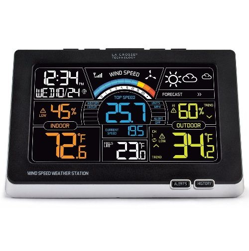 LACROSSE WEATHER STATION - STAZIONE METEO CON DISPLAY LCD A COLORI
