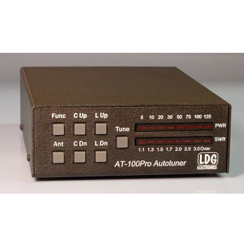 LDG AT-100 PROII ACCORDATORE AUTOMATICO HF+50 MHZ 125W