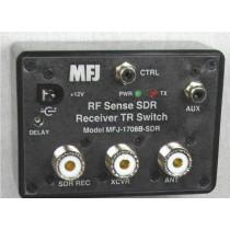 MFJ-1708B SDR RF SENSING T/R SWITCH WITH SO-239