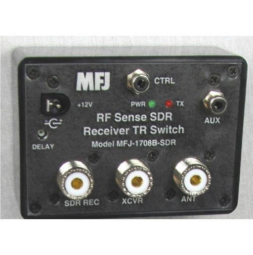 MFJ-1708B SDR RF SENSING T/R SWITCH WITH SO-239