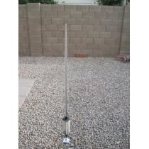 MFJ-2286 Antenna verticale portatile 7-55 MHz 1KW alta metri 5,80