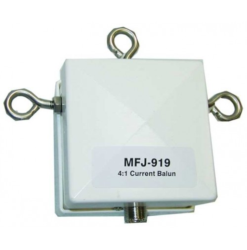 MFJ 919 -  CURRENT BALUN 4:1 - 10-160 METRI - 1500W