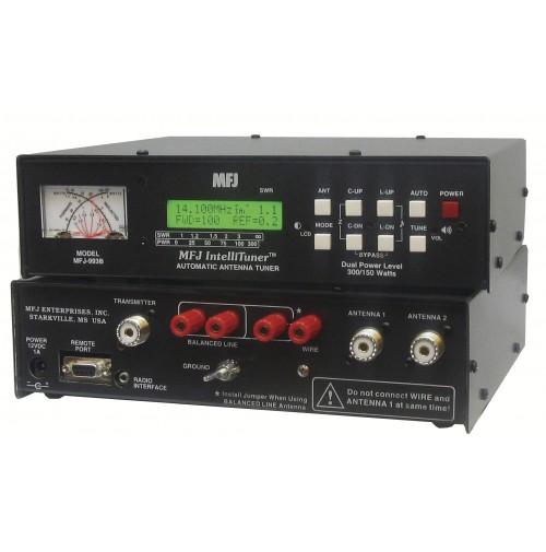 MFJ-993B Accordatore automatico per antenne bilanciate/sbilanciate 300 Watt