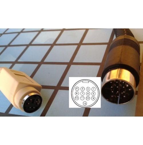 MGE ADATTATORE PER INTERFACCE DIGI MKII / DIGIMICRO A RADIO ICOM CONN.13 DIN