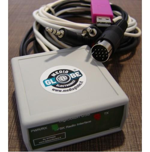 MGE DIGICAT-7300 MKII Interfaccia modi digitali+cat CI-V USB icom 7300 DIN13