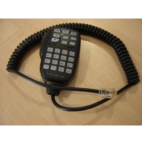 MGE HM-133 (SIMILE ICOM) MICROFONO DA PALMO DTMF PER ICOM 2820/2725