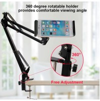 MGE SUPPORTO SNODABILE TABLET E IPHONE SAMSUNG 360 GRADI