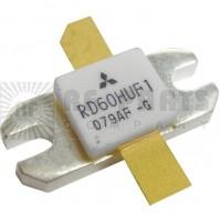 MITSUBISHI RD60HUF1 MOSFET TRANSISTOR 60W - 520 MHZ 12.5V