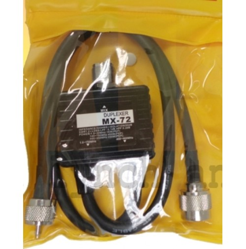 MYDEL MX-72N DUPLEXER SO239 IN PL N OUT VHF UHF