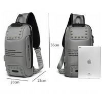 OZUKO Borsa a tracolla impermeabile Antifurto Design adatta icom IC-705  iPad TABLET