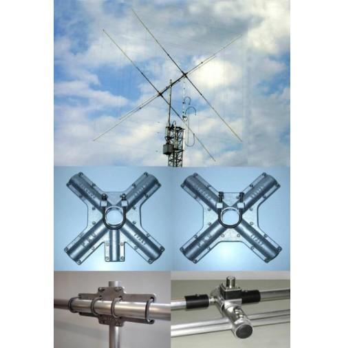 PKW CLASSIC QUAD 2E - Antenna cubica 2 ELEM. 10-12-15-17-20