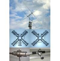 PKW CLASSIC QUAD 2E - Antenna cubica 2 El. 10-15-20 metri