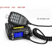 QYT KT-8900D Ricetrasmettitore Veicolare Dual Band/ QUAD standby VHF/UHF