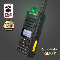 Radioddity  GD-77 Dual Band Dual Time Slot DMR Digital Analog