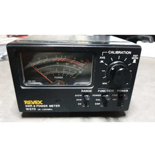 REVEX  W570 WATTMETRO 1.6/1300MHz - 200watt