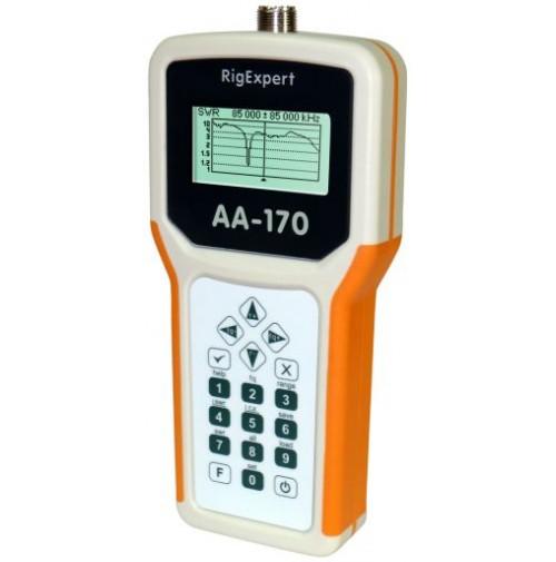 RIGEXPERT AA-170 ANALIZZATORE DI ANTENNA 0.1 to 170 MHz SENZA CUSTODIA