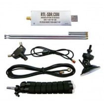 RTL-SDR Blog R820T2 RTL2832U 1PPM TCXO SMA Software Defined Radio with Dipole Antenna Kit