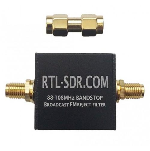 RTL-SDR Broadcast FM88-108 Band-Stop Filter- Filtro Notch per scanner, ricevitori portatili