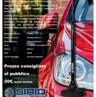 SIRIO MAG50 CB ANTENNA VEICOLARE CB MAGNETICA