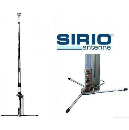 SIRIO GP E 27 - 5/8 ANTENNA BASE CB - 27 MHZ LUNGH. 6,50 MT