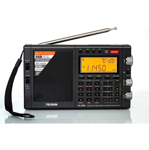 TECSUN PL-990X doppia conver. AM FM radio ad onde corte portatile SSB 330006