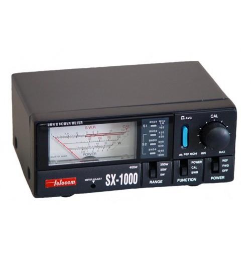 TELECOM ANTENNA SX-1000 - ROSMETRO E WATTMETRO 1.8-160/430-1300 MHZ