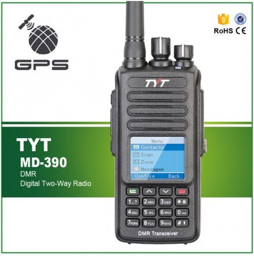 TYT MD-390  DMR UHF 400-480MHz C/O GPS Digital MobileRadio waterprof IP67