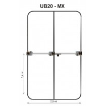 ULTRABEAM UB20-MX 3 elem. small yagi- 3 el. 6-10-12-15 & 2 elements yagi moxon : 17-20 meters