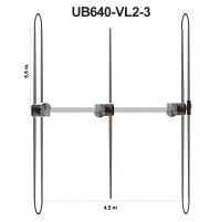 ULTRABEAM UB640 - VL2-3 - 3 elements yagi : 6-10-12-15-17-20 meters