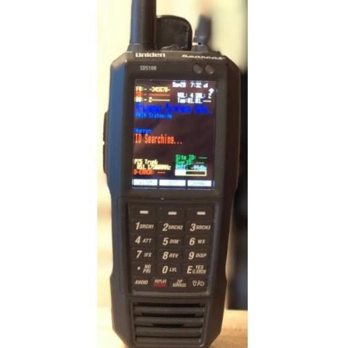 UNIDEN SDS-100ED SCANNER FM/AM 25->1300MHZ DMR/FM/AM