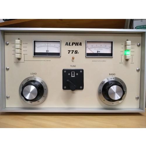 ALPHA 77sx - Versione  2x 8877 (3cx1500) - valvole 100% potenza out oltre 3.5 kw