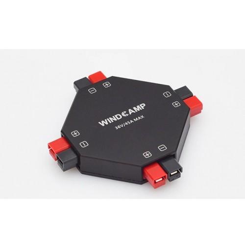 WINDCAMP AP-4  distributore di alimentazione 4 VIE basato su Anderson