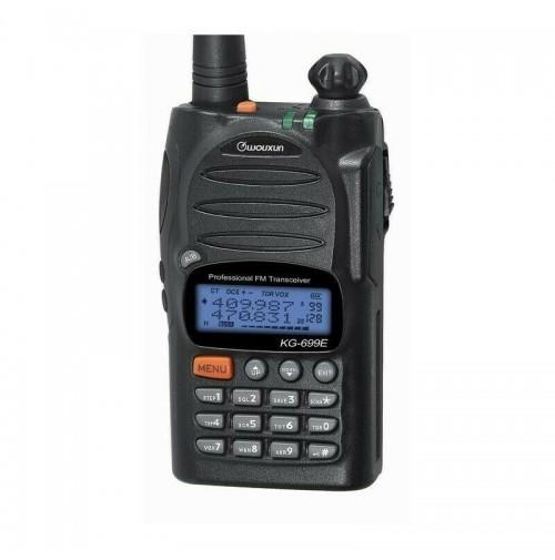 WOUXUN KG-699E ADVANCED VHF - RTX 136-174 MHZ OMOLOGATO CIVILE 5/2 TONE