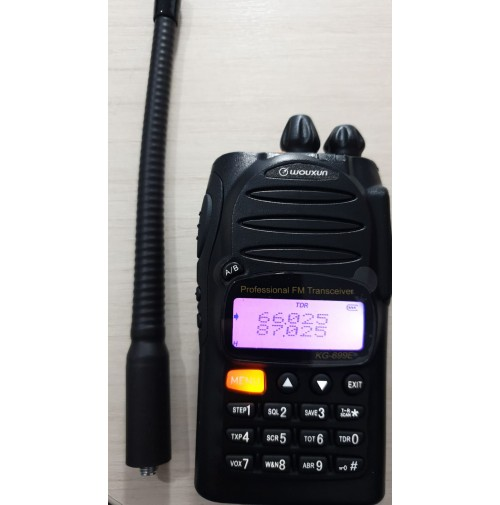 WOUXUN KG-699E  ADVANCED 66-88 MHZ  SCRAMBLE 5/2 TONE BATT.1700MAH