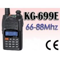WOUXUN KG-699E POLULAR 2 KNOB - 66-88 MHZ BATT.1300MAH