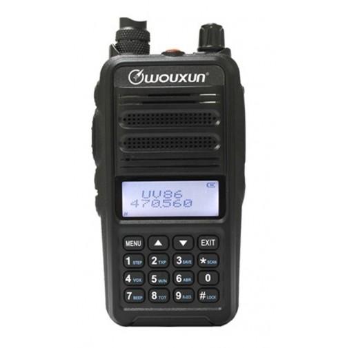 WOUXUN KG-UV86 - RTX PORTATILE 144-430 MHZ BATT.2600 MAH SCRAMBLE