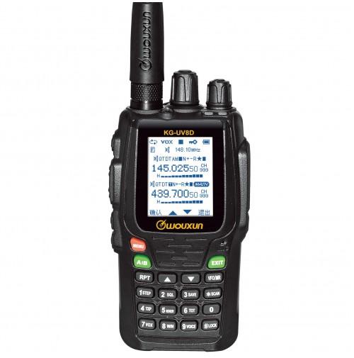 WOUXUN KG-UV8D+ RICETRASMETTITORE VHF UHF CON TRANSPONDER  SCRAMBLER